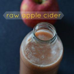 Raw Apple Cider Recipe