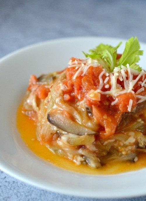eggplant parmesan noodle recipe