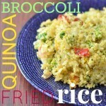 broccoli quinoa fried rice recipe