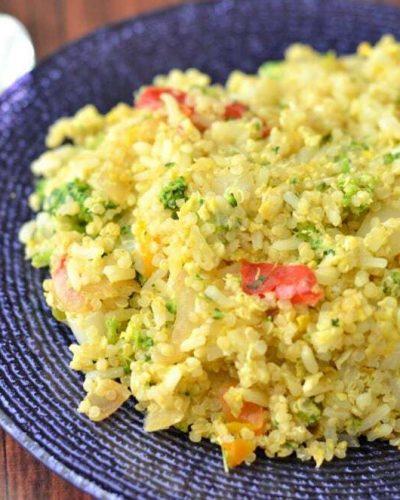 broccoli quinoa fried rice