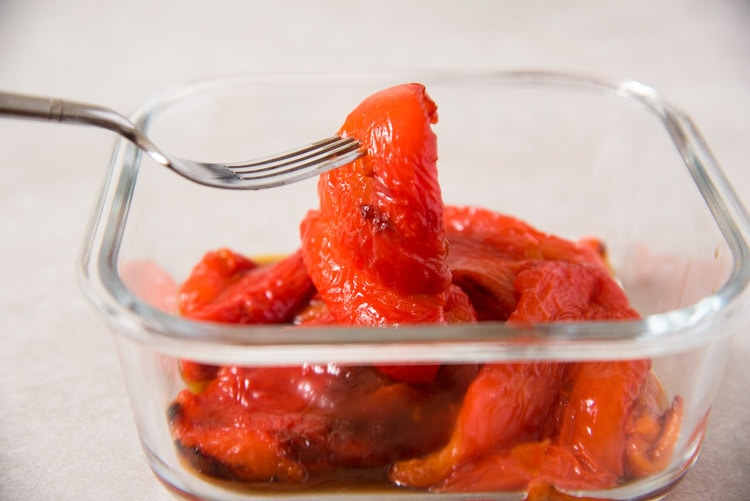 How to Roast Red Peppers for Recipes