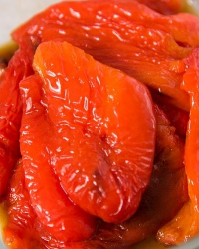 Homemade Roasted Red Peppers