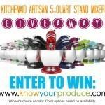 KitchenAid Aristan Stand Mixer Giveaway