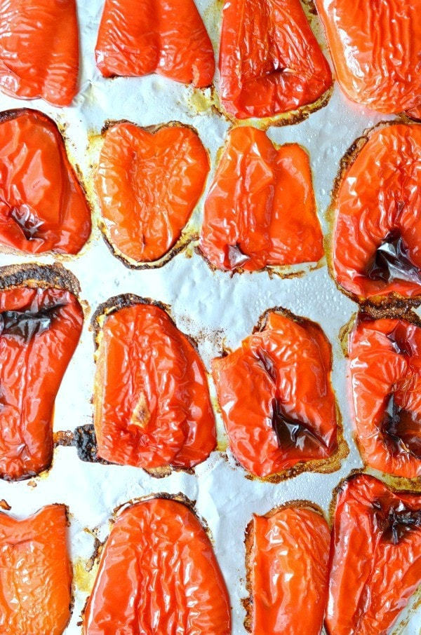 How to Roast Red Peppers, Quick and Simple Recipe that you can use for sandwiches, salads and more!