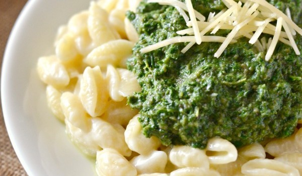 Mushroom, Kale, & Spinach Macaroni and Cheese Recipe
