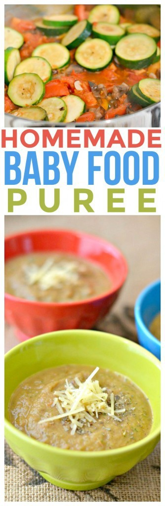 Healthy Sauteed Zucchini Puree for Baby. Most baby food recipes are bland and boring. Our favorite baby food recipes are ones that the whole family can enjoy!