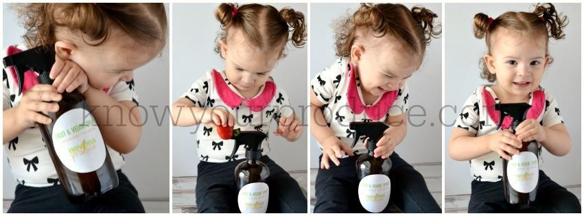 Fruit and Veggie Spray Using Essential Oil