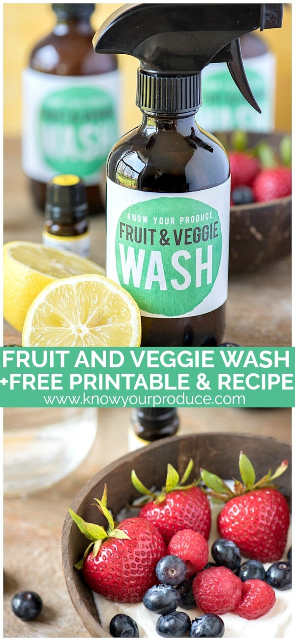veggie wash recipe
