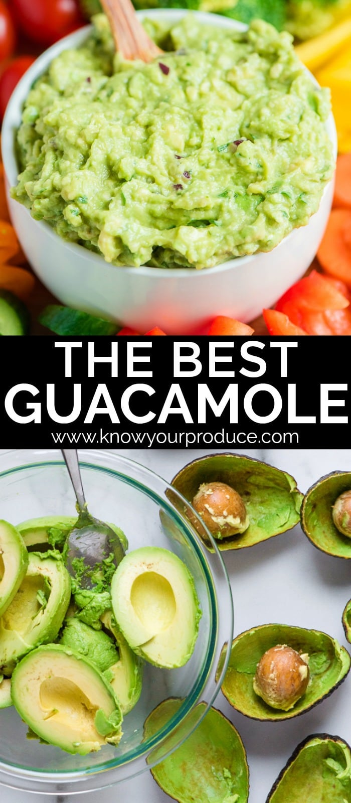 best guacamole recipe - easy vegan appetizer