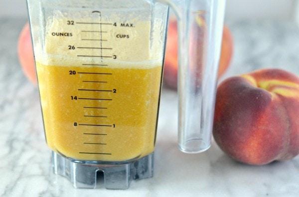 honey peach iced green tea 3