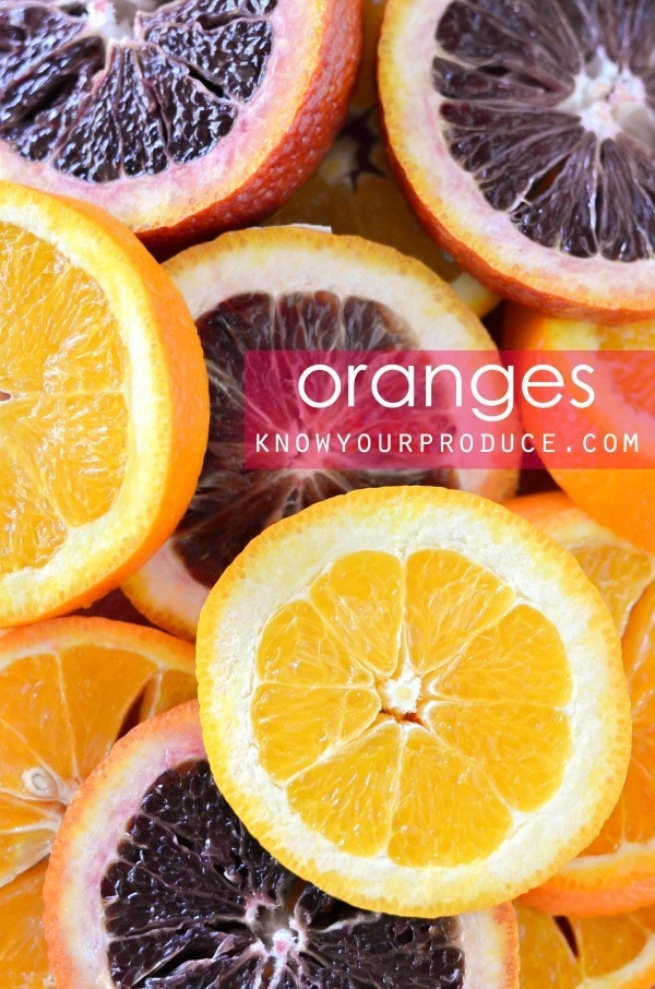 all about oranges and orange recipes
