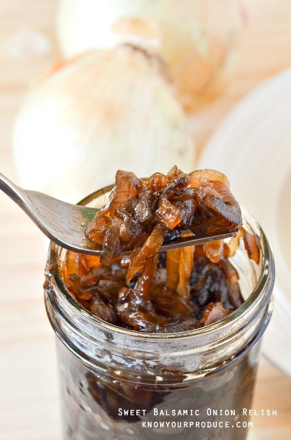 Sweet Balsamic Onion Relish