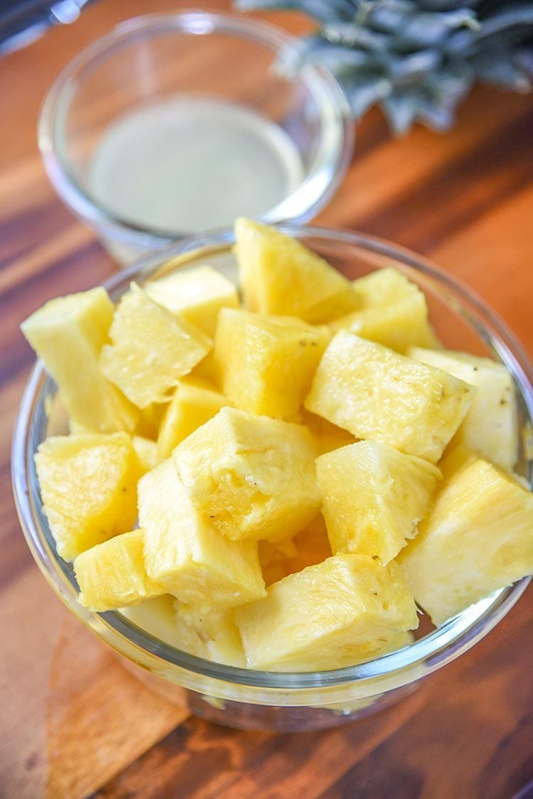 fresh pineapple cut up - all about pineapple