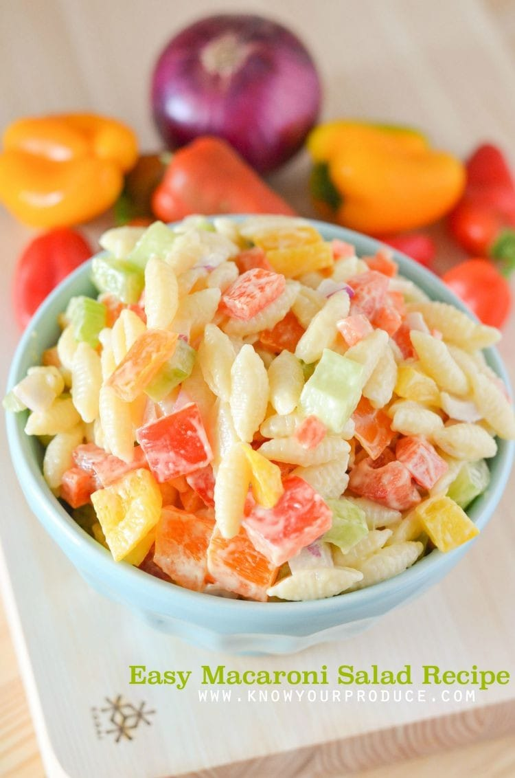 how to make macaroni salad easy