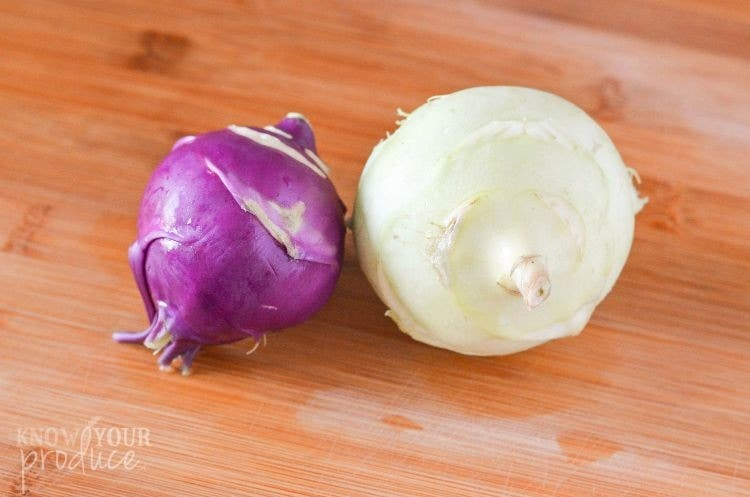 kohlrabi vegetable