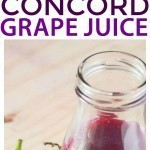 One of the most well known concord grape recipes, homemade concord grape juice. Make your kids juice fresh at home with this quick and easy juice recipe