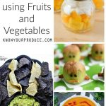 Healthy Halloween Treats using Fruits and Vegetables