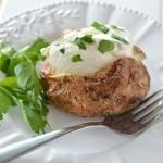 How to Make a Baked Potato – Baked Garlic Parsley Potatoes