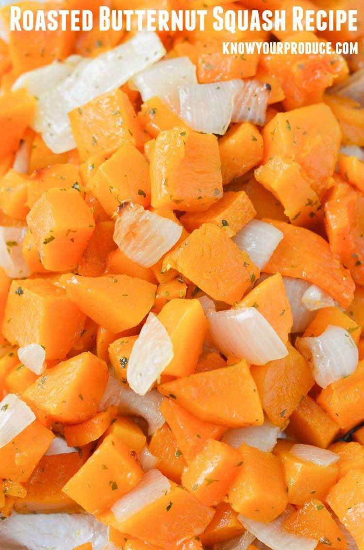 how to serve roasted butternut squash