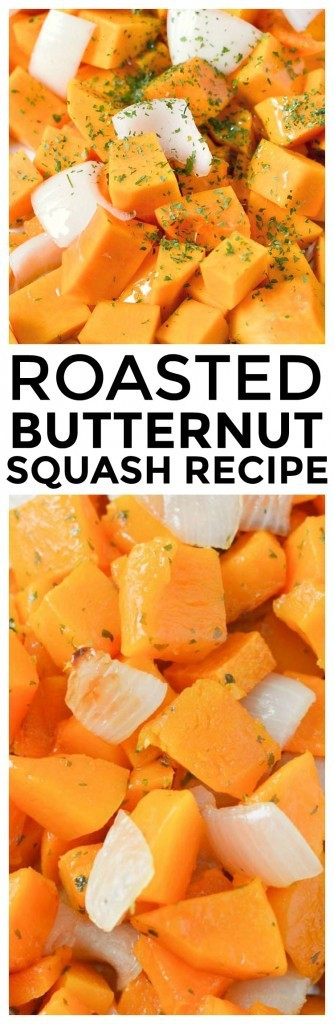 One of our favorite roasted butternut squash recipes. Sweet caramelized butternut squash and caramelized onions are one of the best side dish recipes we've made.