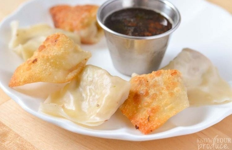 Pork and Vegetable Potstickers and Dumplings