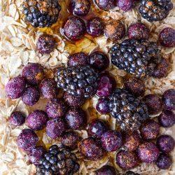 Roasted Blackberry Breakfast Bowl