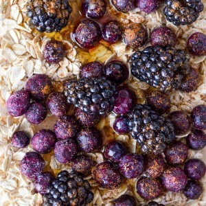 Roasted Blackberry Breakfast Bowl