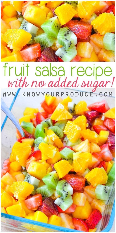 fruit salsa how to make healthy fruit juice