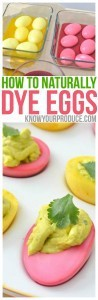 How to Naturally Dye Eggs for deviled eggs recipe best kid friendly healthy snack - Easter Holiday Recipe naturally dyed easter eggs
