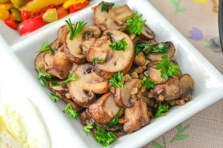Parsley and Garlic Mushroom Recipe