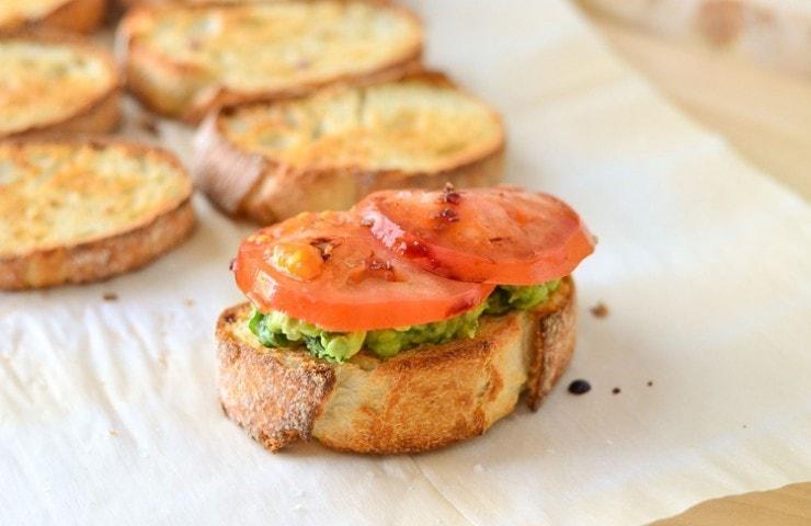 Avocado Toast | Kale Guacamole with Balsamic Vinegar