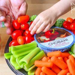 Easy Vegetable Platter for Entertaining