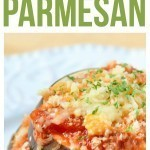 Eggplant Parmesan Parmesan Recipe using a thick and hearty sauce, cheeses and herbs. Quick and easydinner recipe that you can make in less than 30 minutes!eggplant parmesan healthy and delicious