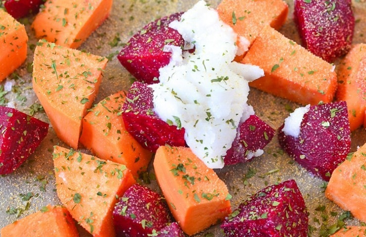 Roasted Sweets and Beets