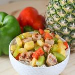 Pork Chops with Pineapple and Peppers