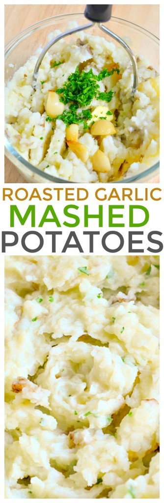 Looking for quick and easy side dish recipes? Serve our roasted garlic mashed potatoes recipe packed with flavor and fresh ingredients.