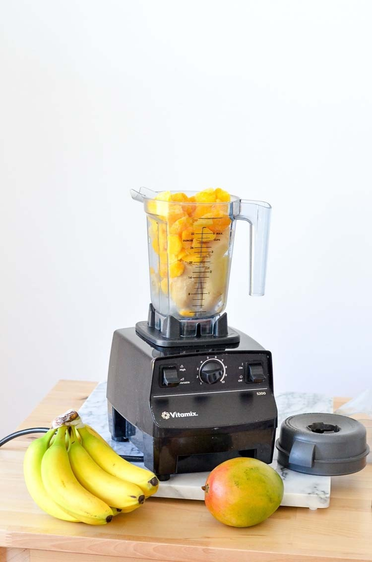 vitamix ice cream