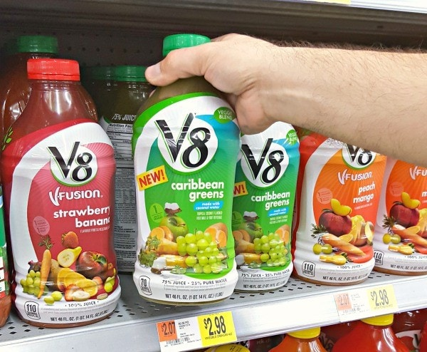 Blending Fruits and Vegetables On The Go with your daily lifestyle may seem like a daunting task. With the help of V8® Veggie Blends you can have both fruits and vegetables at the ready. A healthy juice drink for the entire family to enjoy.