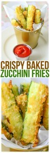These zucchini fries baked to perfection are one of our favorite side dishes for kid friendly meals make these homemade zucchini french fries homemade easy recipe.