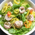 Turkey Ham and Cheese Salad