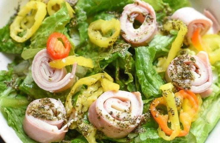 Turkey Ham and Cheese Salad