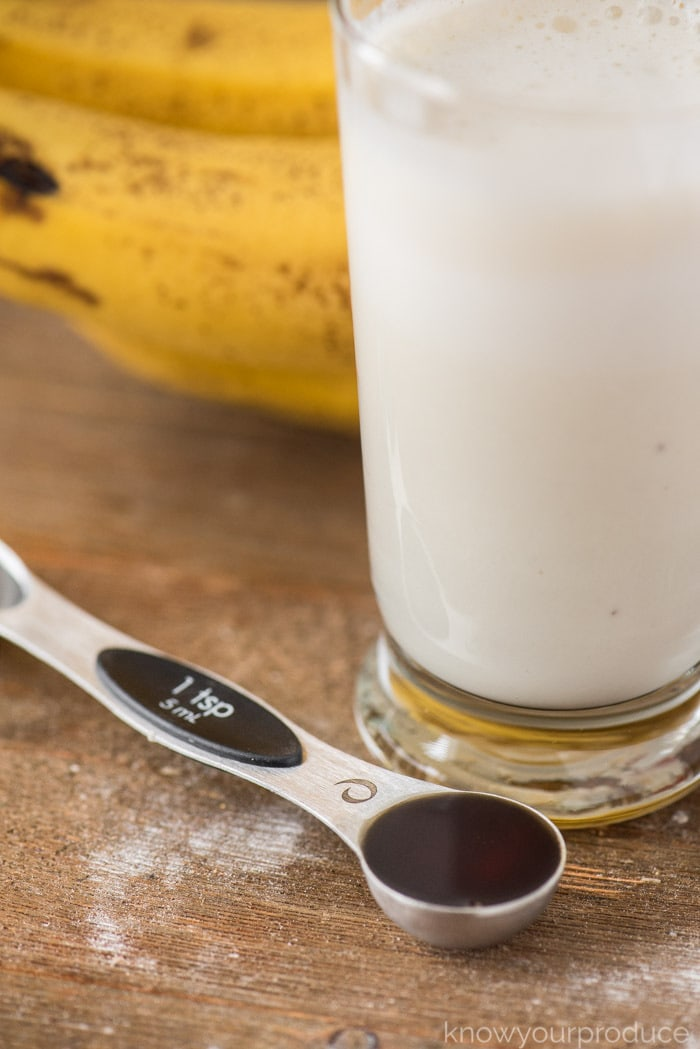 banana and yogurt smoothie vanilla
