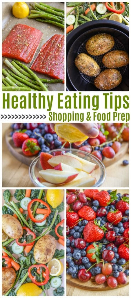 Healthy Eating Tips for shopping and food prep // buying in bulk - pinterest