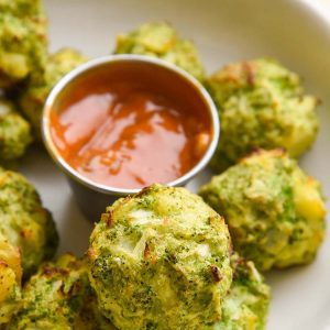Broccoli Tater Tots make a perfect after school snack