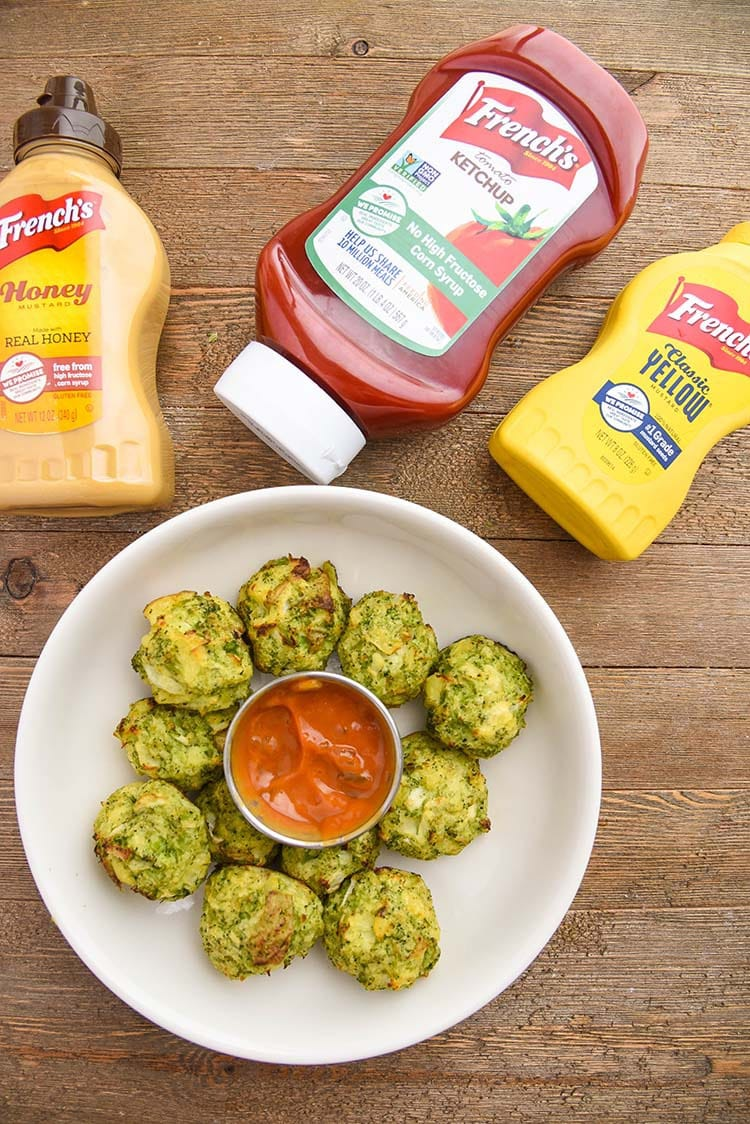 Broccoli Tater Tots make a perfect after school snack - frenchs