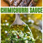 Homemade Argentinian Chimichurri Sauce Recipe fresh and delicious