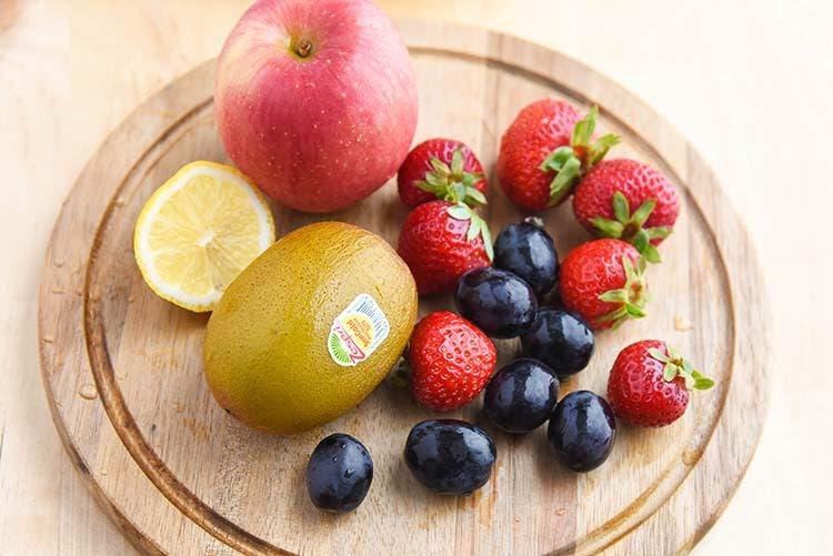 fresh fruit salad is great for snacking - fruit platter
