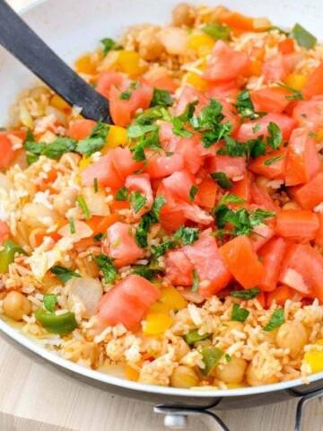 Mediterranean Rice Recipe