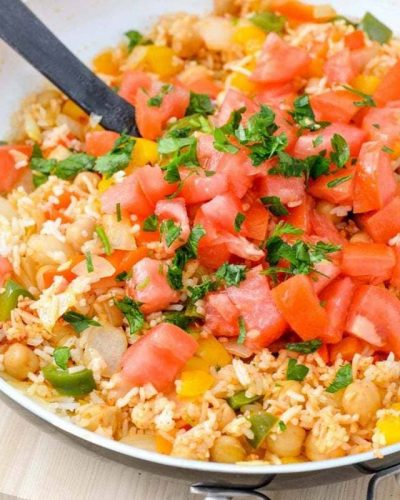 Mediterranean Rice Recipe