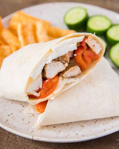 Healthy Grilled Chicken Wrap Recipe
